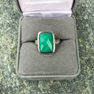 Vintage Chrysoprase Sterling Ring